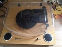 Ion Max LP - Record player (Turntable) with Stereo Speakers