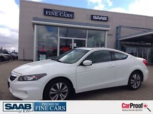 2011 Honda Accord EX-L-Coupe Leather Sunroof