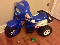 Kids 6v battery powered trike