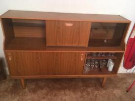 Side cupboard and drinks unit