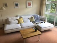 Pristine condition beige Ikea SODERHAMN sofa