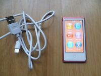 APPLE IPOD NANO 16GB 7TH GENERATION WITH CHARGER CABLE