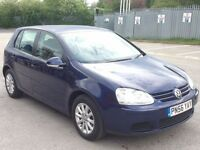 V.W GOLF 1.9 TDI 105 MATCH 5DR,HPI CLEAR,CAMBELT CHANGE,1 OWNER,1 YEAR M.O.T,2 KEYS,CRUISE,ALLOYS,AC