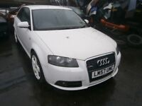 2007 AUDI A3 TFSI S-LINE 1.8 BREAKING FOR PARTS