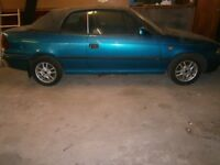 astra soft top for parts or what ever