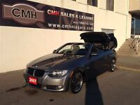 2007 BMW 3 Series 328i HARDTOP CONVERTIBLE LEATH *CERTIFIED*