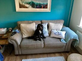 Sofa 2 seater marks and spencer excellent condition