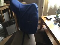 Harry Dabbs Elegant dressage saddle 17""