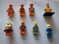 26 x lego minifigures