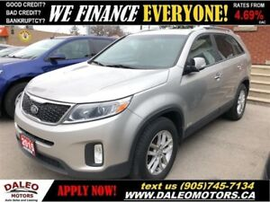 2015 Kia Sorento LX| LEATHER HEATED SEATS| AWD