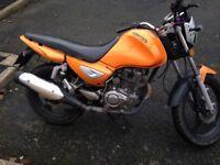 Zontes 125cc (6month mot)