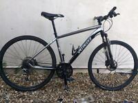 Specialized cross trail pro mountain bike (hybrid)