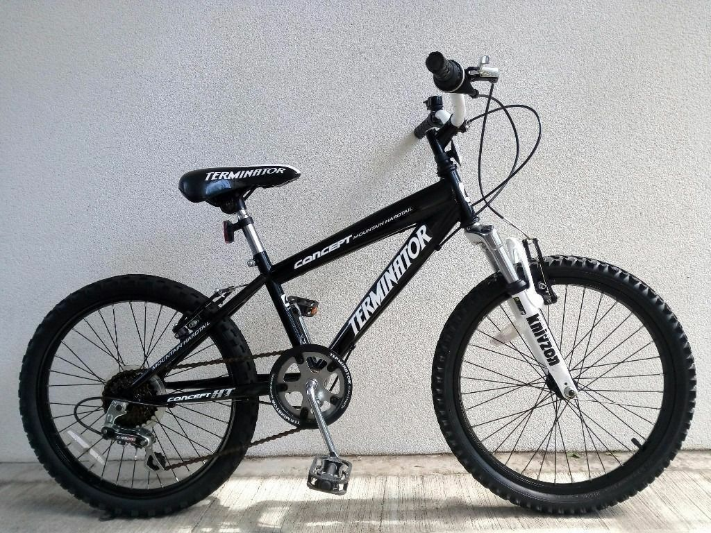 "FREE Lights with (2566) 20"" CONCEPT BOYS GIRLS MOUNTAIN BIKE BICYCLE; Age: 6-9; Height: 120-135 cm"