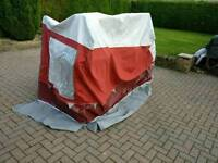 Awning annex and pole kit