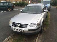 VW PASSAT 2005 TDI 130 BHP 1 YEARS MOT £875 ONO