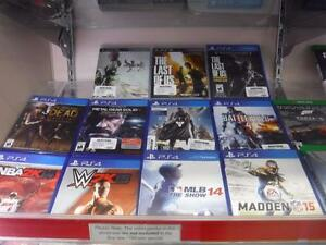 Game Hypes wants your Playstation 4 and Xbox One games! In exchange for hard CASH! Come in today and trade!
