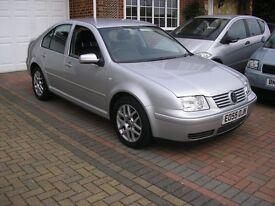 ( 2005) VW BORA HIGHLINE 1.9 TDI (130) 6SPEED MET/SILVER ( FSH 10 VAG STAMPS IN BOOK) BLACK LEATHER