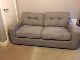 2 x Three seater sofas for sale