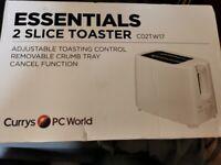 2 slice toaster NEW
