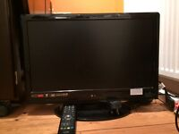 "21"" Logik TVs with built in DVD player for sale"