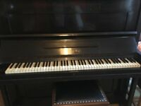 German piano, overstrung and under damped. Has been regularly tuned.