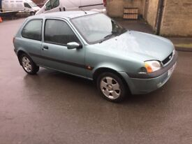 2001 Ford Fiesta 1.25 new mot
