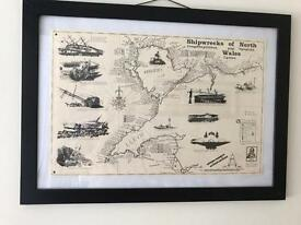 Map of north wales sunken ships