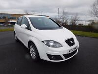 FOR SALE SEAT ALTEA 1.6 TDI LOW MILES FULL SERVICE HISTORY