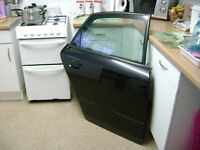 Audi A4 B6 Face Lift Rear Drivers Door In Black Comes Complete