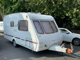 2005 SWIFT ACCORD 480 LIGHTWEIGHT CARAVAN ONLY 2 BERTH WITH SEPARATE SHOWER