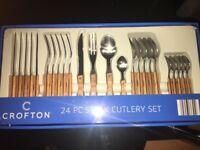 24 PC Cutlery Set