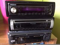 3 car stereos in good working order £15 each