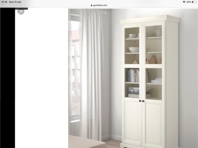 Ikea Off White Liatorp Bookcase With