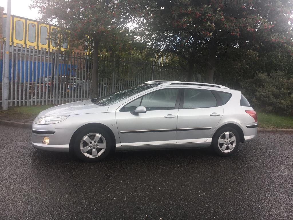 2007/56 Peugeot 407✅SW SE 1.6HDI✅GOOD MILES✅VERY CLEAN ESTATE✅PAN ROOF