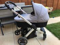Babystyle Oyster Pram/Pushchair with Buggy Board