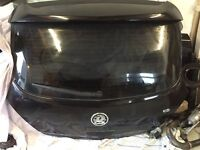 Black tail gate with original Vauxhall spoiler good condition