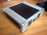 Heavy Duty Flight Case - 19inch 2u Rack - great condition & quality