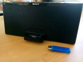 sony speaker stereo and woofer