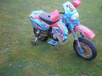 Kids Ride-on motorcross motor bike 6 volt