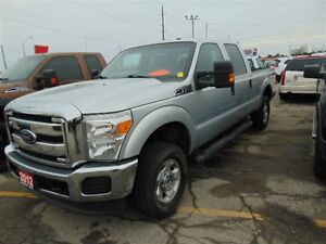 2012 Ford F-250 XLT SUPER CREW 4X4, TOW PACKAGE, CRUISE CONTROL