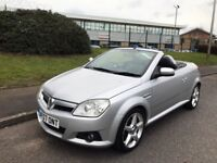 Vauxhall Tigra 1.4 i 16v Exclusiv 2dr (a/c). Convertible. One owner, 12 Months MOT, Great runner!