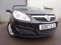 💥07 VAUXHALL CORSA 1.0,MOT JUNE 017,PART HISTORY,1 OWNER FROM NEW,2 KEYS,VERY RELIABLE SMALL CAR💥