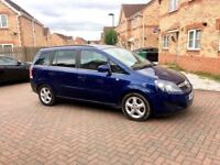 2011 VAUXHALL ZAFIRA 1.7 DIESEL, JUST SERVICED, MOT FEB 2018, LOW MILEAGE