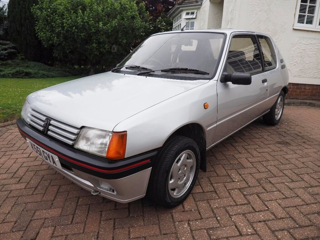 peugeot 205 turbo diesel in fantastic condition in coggeshall essex gumtree. Black Bedroom Furniture Sets. Home Design Ideas