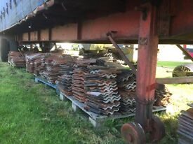 Quantity of corrugated roof tiles from our barn roof
