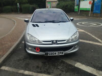 FINANCE AVAILABLE 2004 peugeot 206 cc very nice condition metal folding roof alloys leather service