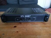 SPL 300BT Amplifier - 2 channel 300w amp with Bluetooth (2 x 150w) 2 available!