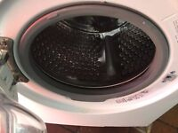 jphn lewis Washer dryer 8kg..ex display Mint