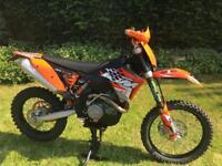 KTM 450 EXC-R 2008 202hrs
