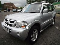Mitsubishi Shogun 3.2 WARRIOR LWB DI-D 5d AUTO 7 Seater - Great Example for year